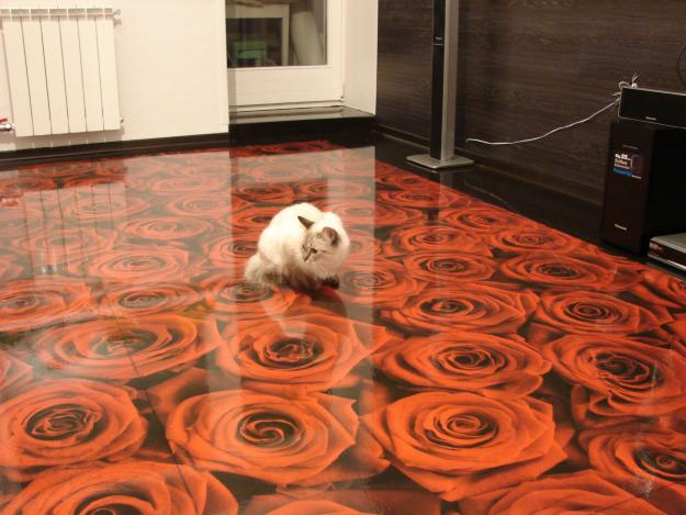 3D Epoxy Floors