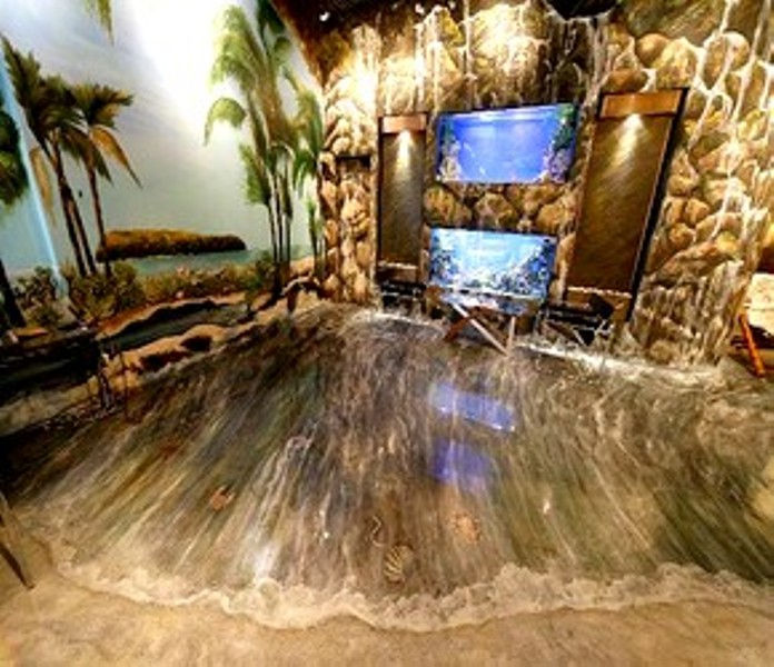3d Floor Graphics For Homes And Businesses besides Custom Countertops besides Wallpaper For Salon Wall likewise Install A Penny Countertop additionally 1400 Square Feet Of Candy Colored Resin Layered Onto The Floor Of A German Museum. on epoxy 3d floor art