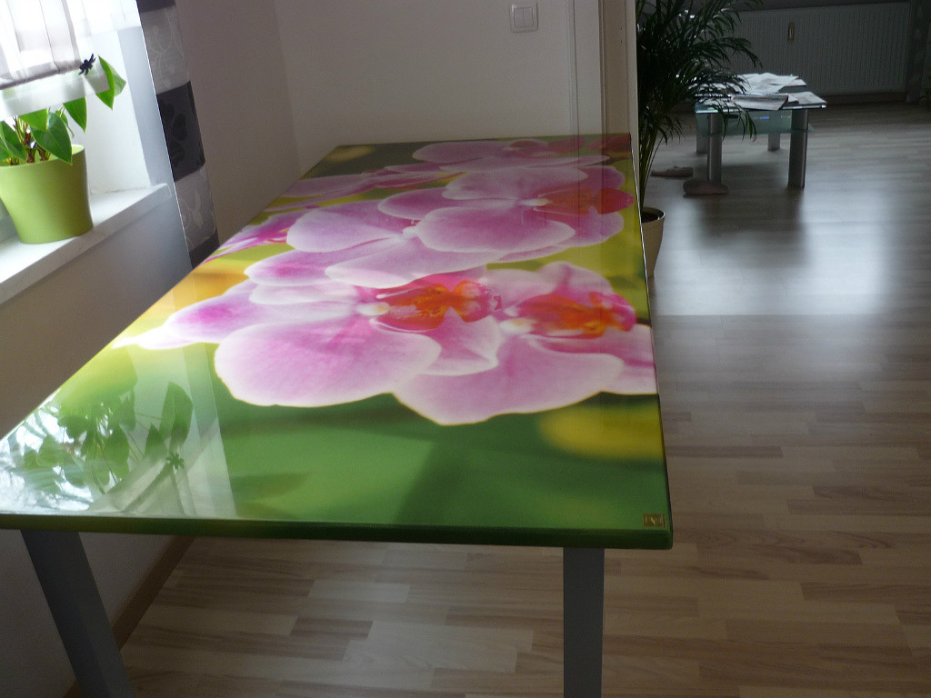 3D Epoxy Table Top