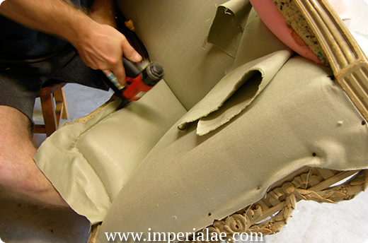 Upholstery process