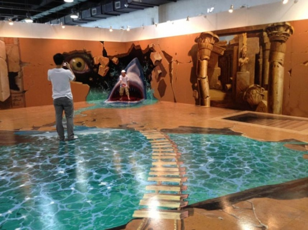 D Painting Exhibition In Dubai : D epoxy floors