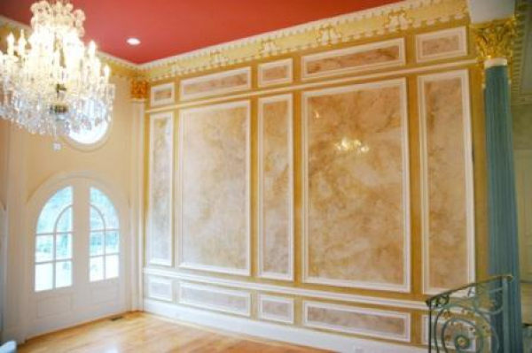 Wall covering - Decoration stucco peinture ...