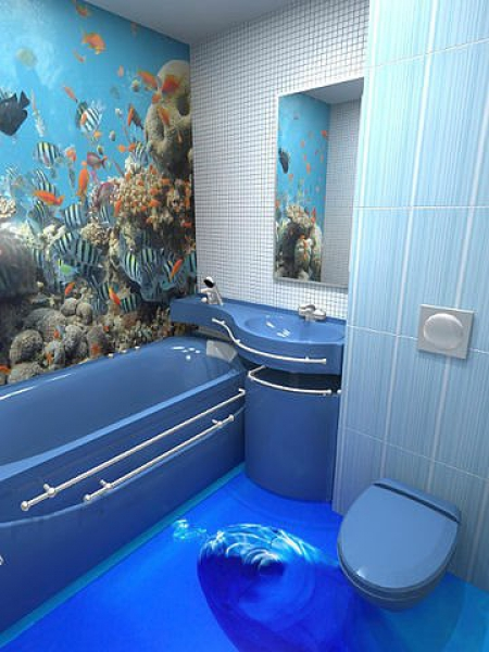 3d epoxy floors 4 for Bathroom 3d floor designs