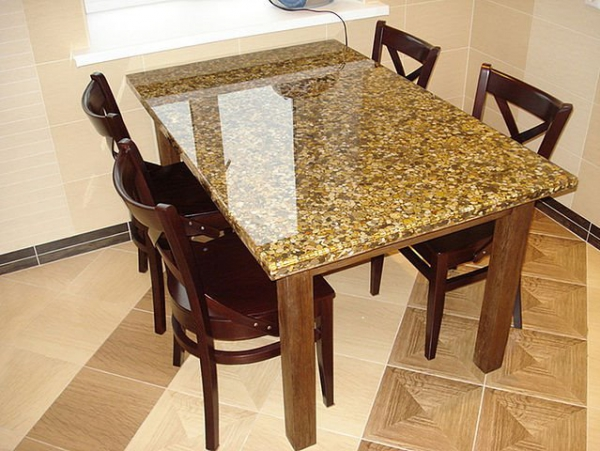 3d epoxy table top for Design table top konkrit