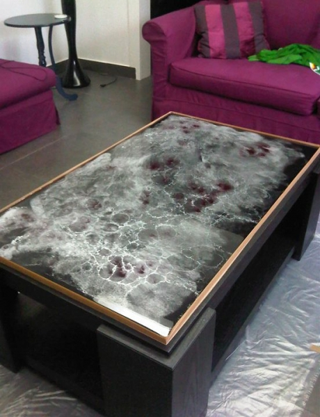 Table Top Epoxy Clear Epoxy Resin Table Photos